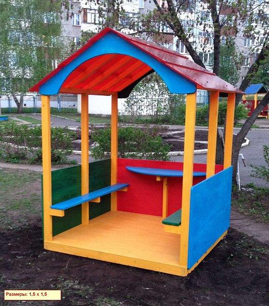 Детский домик для детского сада своими руками